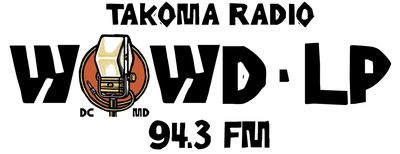 logo for Takoma Radio WOWD-lp 94.3FM