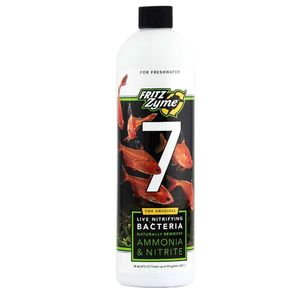 Fritz Aquatics FritzZyme 7 Nitrifying Bacteria for Fresh Water Aquariums