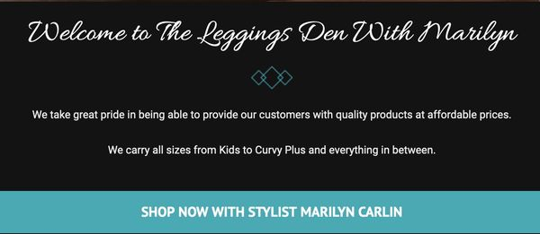 Leggings Den With Marilyn Treasured Gifts 'n Things, Shop Online Events & Craft Shows, Winnipeg, MB