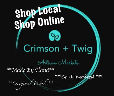 Crimson + Twig Artisan Markets Crimson + Twig Shop Online Treasured Gifts 'n Things, Winnipeg, MB
