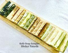 Natural Handmade Kefir Soap Samples