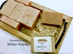 Oatmeal & Milk Kefir Soap