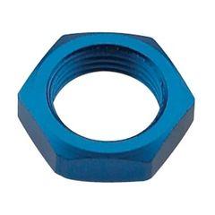 #3 bulkhead nut blue