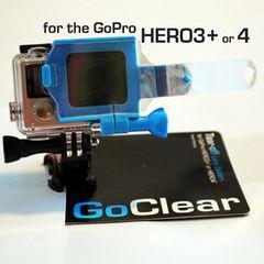 Go Pro Hero 3+ or 4 tearoff system