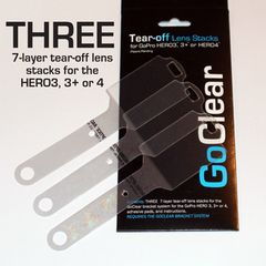 Go Pro replacement tearoffs