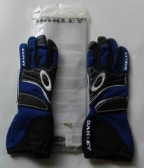 Oakley Carbon X driving glove blue/black S