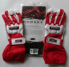 Oakley Carbon X driving glove red/white XXL