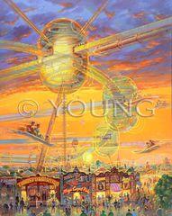Magic Carpet Ride-40x32 Print On Canvas