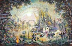 Architect's Daydream-14x20 Print On Canvas