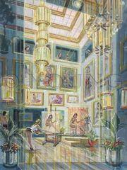 Ladies Parlor-40x30 Print On Fine Art Paper