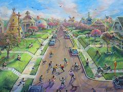 Ununited Nations-18x24 Print On Canvas