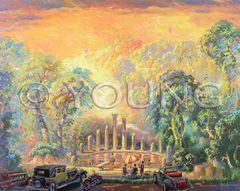 Paradise Found-40x50 Print On Canvas