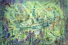 Sea Hunt-24x36 Print On Canvas