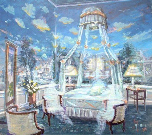 Visitors-Original Painting