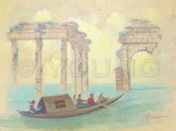 Tour Through The Ruins-Original Painting