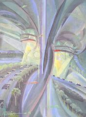Liberty Mall Tornado-Original Painting