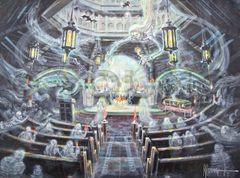 Midnight Mass-18x24 Print On Canvas