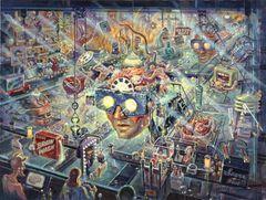 Brainwashing-18x24 Print On Matte Paper