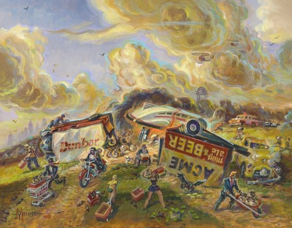 Happy Accident, The-Original Painting