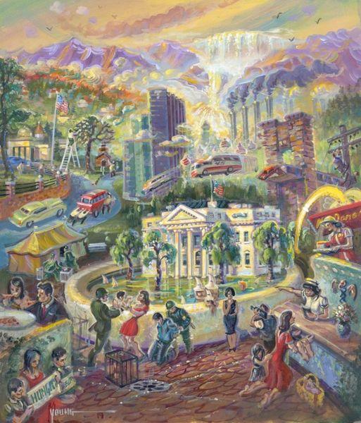 Bedpan, The-Original Painting