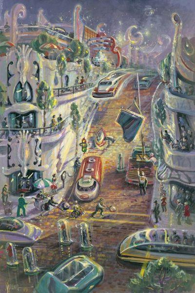 Imminent Danger-36x24 Print On Fine Art Paper