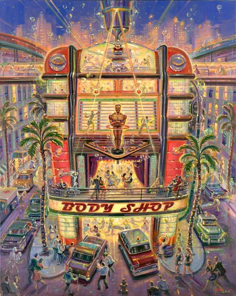 Body Shop-Original Painting