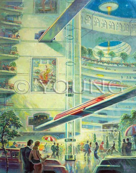 Future Is Here-40x32 Print On Fine Art Paper