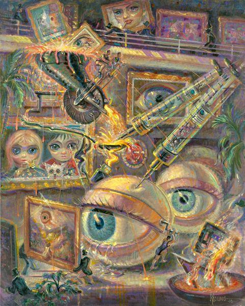 Eye Of The Beholder-24x20 Print On Matte Paper