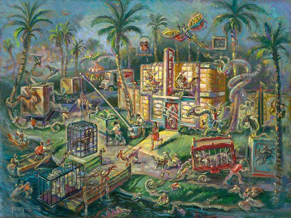 Mutant Pet Shop-Original Painting