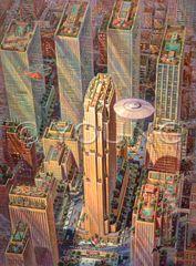 Tour Of The City-40x30 Print On Fine Art Paper