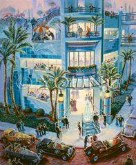 Ritz Paradise-29x24 Print On Canvas