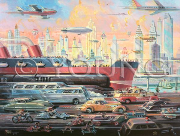 Means Of Transportation-30x40 Print On Canvas
