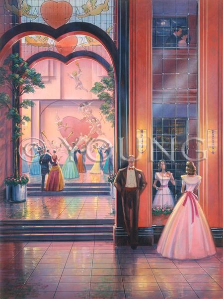 Sweetheart's Ball-40x30 Print On Canvas