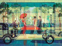 Window Gazing-18x24 Print On Canvas