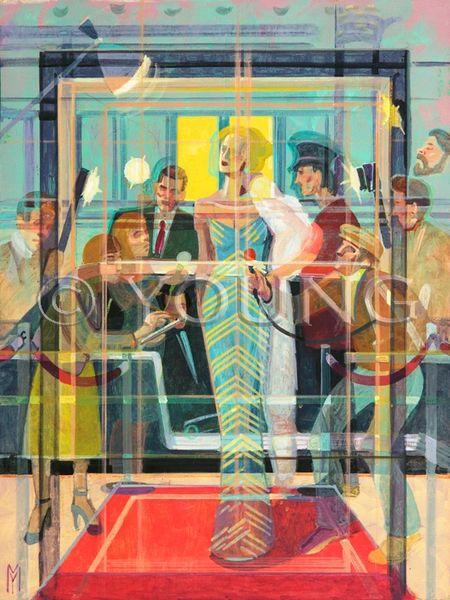 Celebrity Interview Prismatism-18x24 Print On Canvas