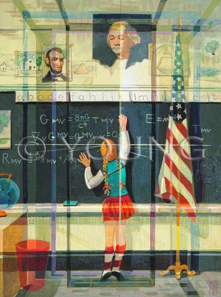 Chalk Talk-24x18 Print On Canvas