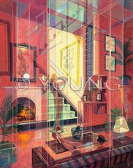 Playboy Prismatism-30x24 Print On Canvas
