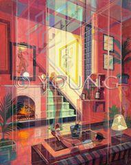 Playboy Prismatism-30x24 Print On Fine Art Paper