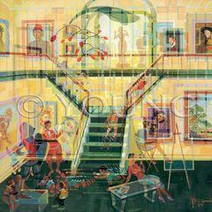 Field Trip-36x36 Print On Canvas
