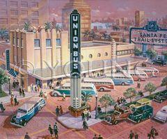 Union Depot-24x30 Print On Fine Art Paper