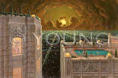LA Overlook-24x36 Print On Canvas