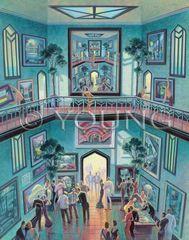 Opening Night-30x24 Print On Fine Art Paper