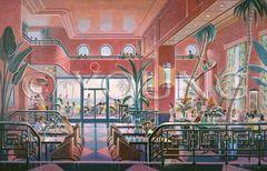 Park Hotel-24x36 Print On Fine Art Paper