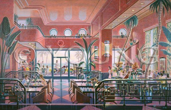 Park Hotel-23x36 Print On Canvas