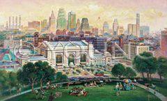 Union Station-22x36 Print On Canvas