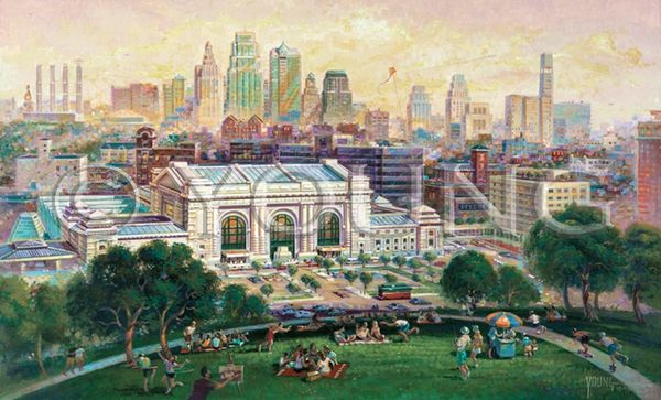 Union Station-22x36 Print On Canvas