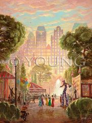 Park Carnival-24x18 Print On Matte Paper