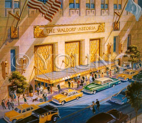 Waldorf Historia-20x22 Print On Matte Paper