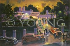 Park Central Gallery Miami-24x36 Print On Fine Art Paper