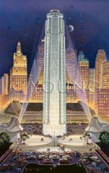 Liberty Memorial-24x16 Offset Print